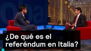 Download Entrevista: ¿De qué es el referéndum en Italia? - Foro Global Video