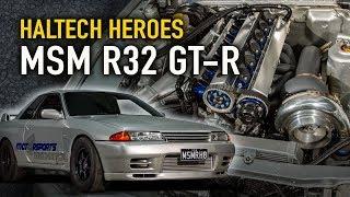 Download Motor Sports Mechanical 1100hp, 8-sec R32 GTR - Haltech Heroes Video
