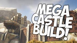 Download ATLAS: MEGA CASTLE BASE PVP BUILD! Video