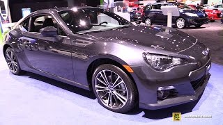 Download 2015 Subaru BRZ Limited - Exterior and Interior Walkaround - 2015 Detroit Auto Show Video