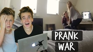 Download REACTING TO THE PRANK WAR! Video