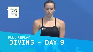 Download Diving - Women's 3m Springboard | Full Replay | Nanjing 2014 Youth Olympic Games Video