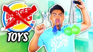 Download 10 REJECTED BURGER KING TOYS! Video