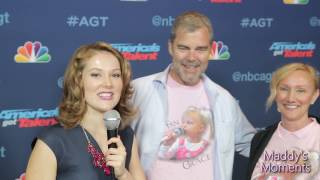 Download Grace VanderWaal's Parents Interview at America's Got Talent 8/24/2016 Video