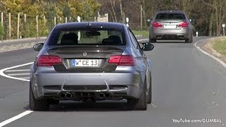 Download 707HP BMW M3 Manhart Racing V8R Biturbo & 700HP Manhart Racing MH5S Biturbo M5 F10! Video