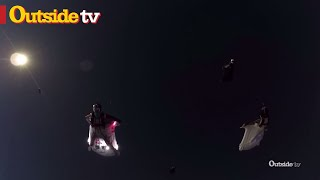 Download First-Ever Wingsuit Formation Through Full Solar Eclipse Video