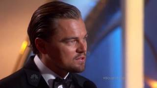 Download Leonardo DiCaprio exceptional winner speech at the 71st annual golden globe awards 2014 Video