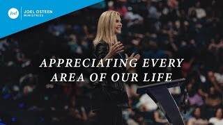 Download Appreciating Every Area Of Our Life | Victoria Osteen Video
