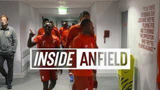 Download Inside Anfield: Liverpool 4-0 West Ham | Behind-the-scenes tunnel cam from the opening day win Video