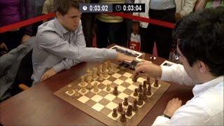 Download GM Magnus Carlsen vs GM Vladimir Kramnik 🔥 Chess Blitz Tal Memorial 2013 Round 2 ☆ Video