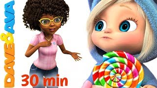 Download 🍭 Ava Ava Yes Mama   Johny Johny Yes Papa   Nursery Rhymes Collection 30 min from Dave and Ava🍭 Video