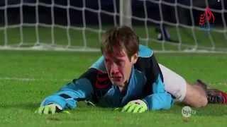 Download لاعب يصد جميع ضربات الجزاء بعد طرد حارس المرمى...فانظر ماذا حدث له ! Video