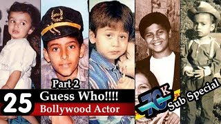 Download Guess The Bollywood Actor - 25 Actors From Their Childhood Pictures | Bollywood Buff Challenge | Video