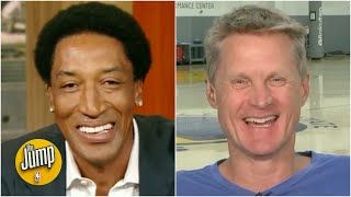 Download Steve Kerr reminisces with Scottie Pippen about their Bulls playoff runs | The Jump | ESPN Video