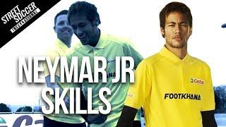 Download Neymar skills 2014 - Learn Football/soccer skills with Neymar & Cafu Video
