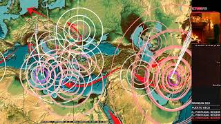 Download 12/13/2017 - West Coast Earthquake Unrest - Oregon + California now moving - Have a plan Video