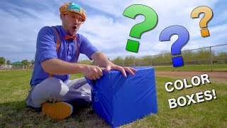 Download Learn Colors with Blippi | Educational Videos for Toddlers | Color Boxes! Video