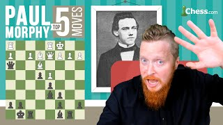 Download Paul Morphy's 5 Most Brilliant Chess Moves Video