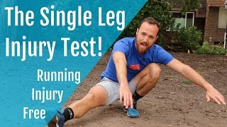 Download Running Injury Free | The Single Leg Injury Test! Video