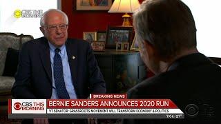 Download Sanders announces 2020 presidential bid Video