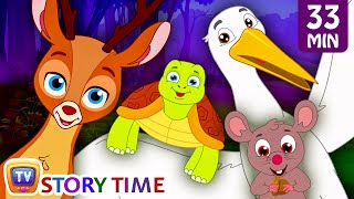 Download Wild Animals save their Deer friend from Bad Hunter | Bedtime Stories For Kids | ChuChu TV Storytime Video
