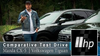 Download Mazda CX-5 vs Volkswagen Tiguan. ″2HP″ Video