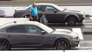 Download All new Dodge models on a drag strip .Demon,Hellcat,Scat Pack,Jeep,Durango,Challenger A/T,R/T Video