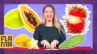 Download Americans Try Latin Fruits Video