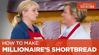 Download How to Make One of Our Most Popular Cookies–Millionaire's Shortbread Video
