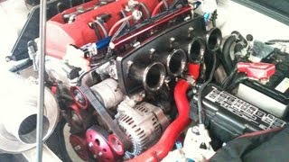 Download HONDA S2000 F20C Kαi : K-Tech tuned engine with TODA ITB ( NA 294HP 29.2kg/m : Rebirth and Dyno ) Video
