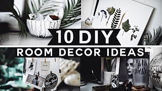 Download 10 DIY Room Decor Ideas for 2019 (Tumblr Inspired) 💡 ✂️ 🔨 Minimal & Affordable! Video