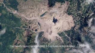Download Mount St. Helens: Time-Lapse From Space (1979-2009) [720p] Video