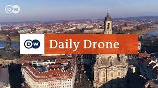 Download #DailyDrone: Frauenkirche, Dresden Video