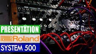 Download Presentation: New Roland System 500 Eurorack Modules Video