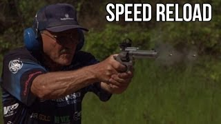 Download REVOLVER SPEED RELOAD! 16 rounds in 4 seconds on slow mo! S&W 929 Jerry Miculek Video