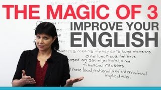 Download Improve your English with the ″Magic of 3″ Video