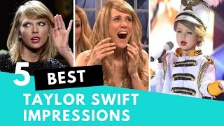 Download Top 5 Best Taylor Swift Impressions! Video
