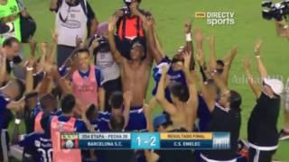 Download Celebracion de Emelec tras ganar el Clasico | Post- Partido (Barcelona 1-2 Emelec) 2016 HD Video