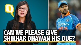 Download Can We Please Give Shikhar Dhawan His Due? | The Quint Video