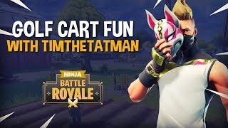 Download Golf Cart Fun With TimTheTatman - Fortnite Battle Royale Gameplay - Ninja Video