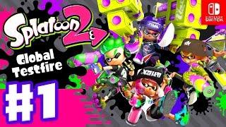 Download Splatoon 2 Global Testfire Session Gameplay Part 1 (Nintendo Switch) Video