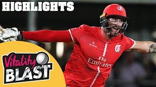 Download Jennings Stars In Nervy QF Clash | Kent v Lancashire | Vitality Blast 2018 - Highlights Video