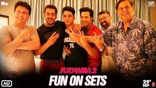 Download Judwaa 2 | Fun On Sets | Varun | Jacqueline | Taapsee | David Dhawan Video
