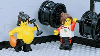 Download Brick Channel Lego Ninja Go Gym Not Fail: Goodbye Fat Ninja Video