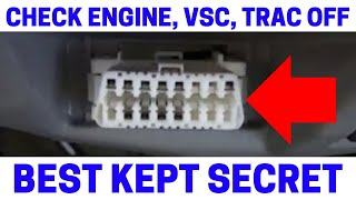 Download (Part 4) How To Fix Your Check Engine, VSC, Trac Off Warning Lights On With Zero Point Calibration Video