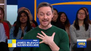 Download James McAvoy on 'GMA' Video