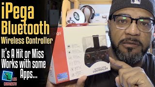 Download iPega PG-9025 Wireless Bluetooth Gamepad Controller 🎮 : LGTV Review Video
