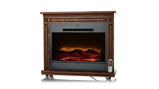 Download Heat Surge RollnGlow EV2 Touch LED Fireplace Video