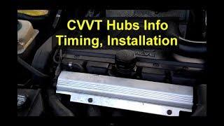 Download CVVT and VVT hub, timing, installation, adjustment, how to install, etc. Volvo cams - VOTD Video