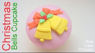 Download Christmas Cupcake & Cake Topper - How to Make a Christmas Bells Cupcake Video